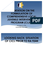 1_Situation of CICL Prior to RA 9344