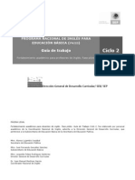 CICLO 2-3. Guía de trabajo español
