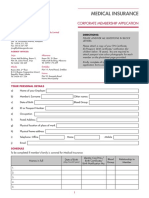 Corporate Membership Application Form