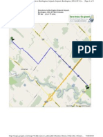 Directions From Oakville to Burlington Airpark