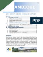 Mozambique Factsheet 20121