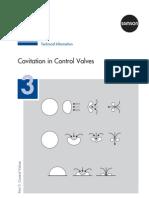 Cavitation of Valves