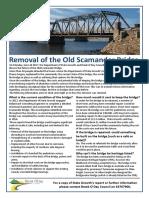 Old Scamander Bridge FAQ