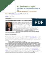 Pa Environment Digest September 6, 2010