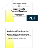 Introduction to Financial Services Marketing