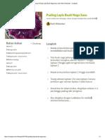 Resep Puding Lapis Buah Naga Susu Oleh Ratih Wulandari - Cookpad