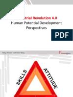 Industrial Revolution 4.0 in Human Talent Development