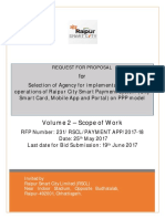 RFP Vol 2 Smart Payment City Mobile App and Portal