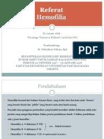 Referat Hemofilia - Trymega 16'076