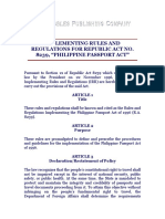 IRR of RA 8239 Passport Law