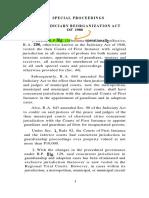 Regalado Special Proceedings