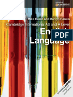 Cambridge International as and a Level English Language Coursebo