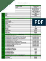 Biocosmethic - Product List 01.05.2016 - 3ac