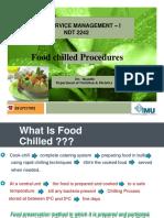 Food Chilled Procedure