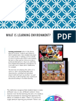 What is Learning Environment Ppdf-esposo