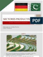 Sectores Productivos Alemania China Pakistan
