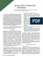 Distribution Power Flow for Smart Grid Technologies