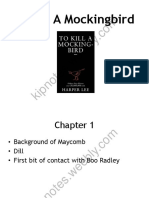watermark to kill a mockingbird  chapter by chapter