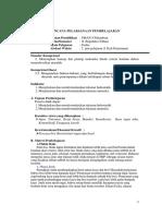 RPP Gerak Fluida 1 Kelas Kontrol