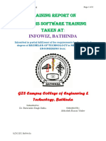 Software Training File 2months Infowiz