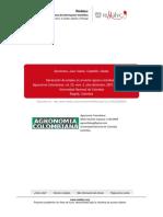 2007_Generación de Empleo en El Sector Agrario Colombiano
