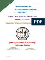 Dmw patiala Training Report