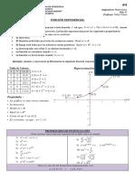 Funciones y Ecuaciones Exponenciales.