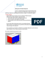 Standard Guidelines Palletizing