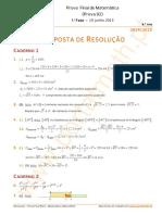 9Ano PFMat 2015 1F Resolucao