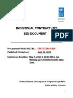 IC - Procurement Notice -Legal Expert