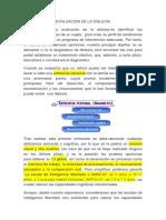 Protocolo EVALUACIÓN DE LA DISLEXIA