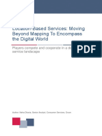 Location Based Services Moving Beyond Mapping to Encompass the Digital World
