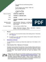 Scrutiny Jan 2018 Agenda