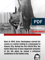 Ernest Hemingway - Life and work
