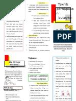 Leaflet Buteyko
