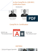 1 Introduction Comptia a Plus 220 901 m1 Slides