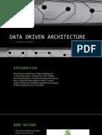 Data Driven Architecture