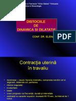 Contractia uterina in travaliu