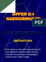 Upper g-l haemorrhage