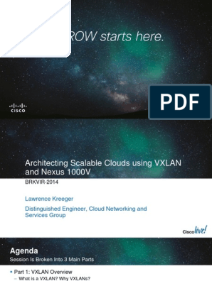 VXLAN Overview | Network Switch | Multicast