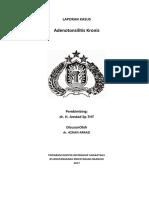213934419 LAPORAN KASUS Adenotonsilitis 1