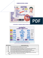 Cambodias Driving License