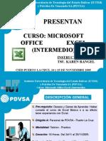 Presentacion Excel INTERMEDIO