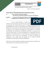 OFICIO - De Apertura Del Año Escolar