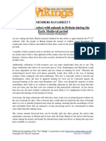 LHE - Datasheet 005 v1 - Availability of Animals