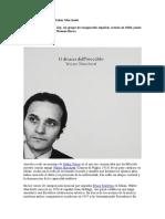 Walter Marchetti. Javier Maderuelo