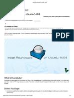 Install Roundcube on Ubuntu 14