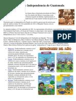 Firma Del Acta de Independencia de Guatemala primaria
