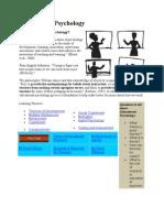 Instructional Design Educational Psychology