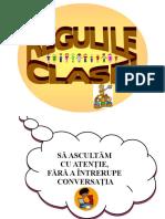 Regulamentul Clasei (Var.2)